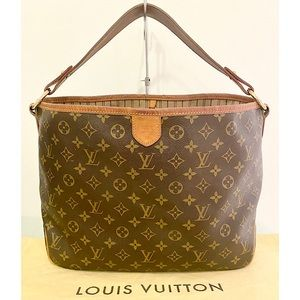 Authentic Louis Vuitton 'Delightful' MM Tote